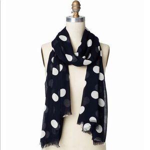 Ann Taylor polka dot scarf